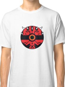 Darth Maul Pokemon Ball Mash-up Classic T-Shirt
