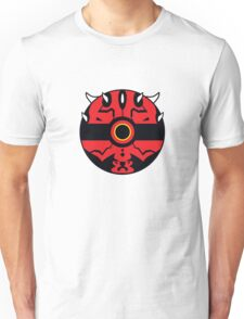 Darth Maul Pokemon Ball Mash-up Unisex T-Shirt