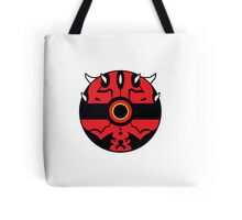 Darth Maul Pokemon Ball Mash-up Tote Bag