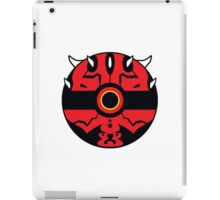 Darth Maul Pokemon Ball Mash-up iPad Case/Skin