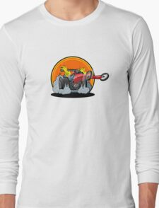 Cartoon dragster Long Sleeve T-Shirt