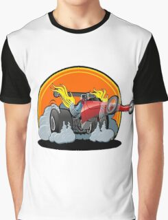 Cartoon dragster Graphic T-Shirt