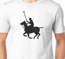 Polo player horse Unisex T-Shirt
