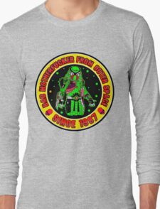 Bad Mofo from Outer Space Colour 2 Long Sleeve T-Shirt