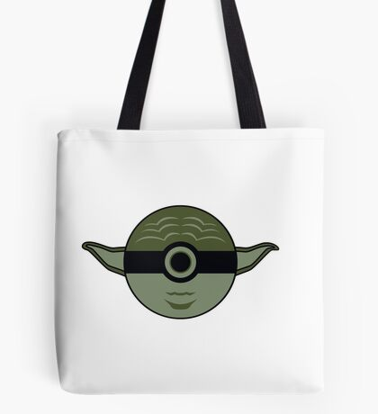 Yoda Pokemon Ball Mash-up Tote Bag