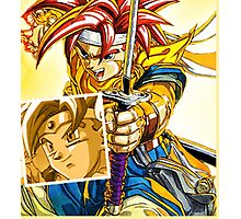 Crono Battle Photographic Print