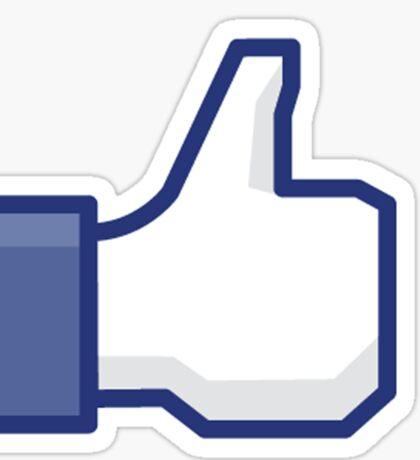 Facebook Like Button Sticker