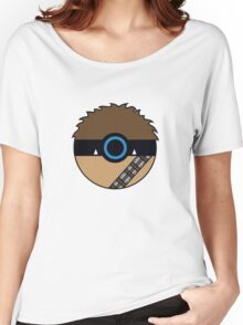 Chewbacca Pokemon Ball Mash-up Women's Relaxed Fit T-Shirt
