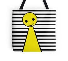 Yellow pawn Tote Bag
