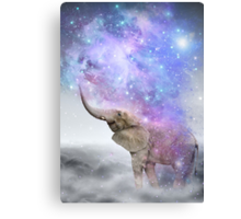Don't Be Afraid To Dream Big • (Elephant Size Dreams) Canvas Print