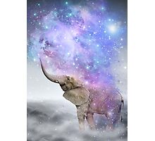 Don't Be Afraid To Dream Big • (Elephant Size Dreams) Photographic Print
