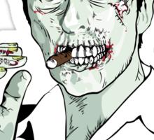 Zombie Al Pacino Scarface Sticker