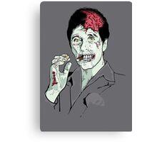 Zombie Al Pacino Scarface Canvas Print
