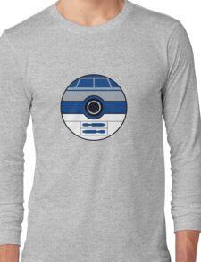 R2D2 Pokemon Ball Mash-up Long Sleeve T-Shirt