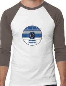 R2D2 Pokemon Ball Mash-up Men's Baseball ¾ T-Shirt