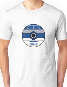 R2D2 Pokemon Ball Mash-up Unisex T-Shirt