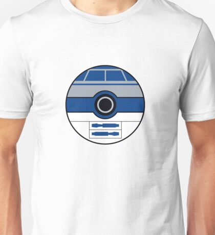 R2D2 Pokemon Ball Mash-up Unisex T-Shirt