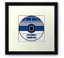 R2D2 Pokemon Ball Mash-up Framed Print
