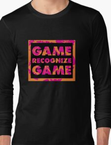 Game Recognize Game Long Sleeve T-Shirt