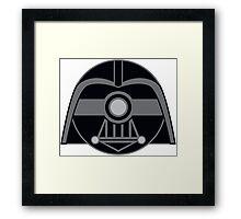 Darth Vader Pokemon Ball Mash-up Framed Print