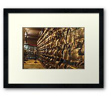 Collection of Armour Framed Print