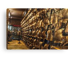 Collection of Armour Canvas Print