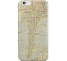 Vintage Map of Bayonne NJ (1912) iPhone Case/Skin