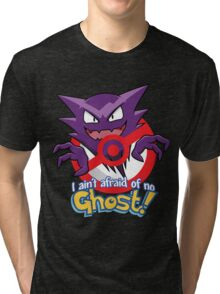 Haunter Busters! Tri-blend T-Shirt