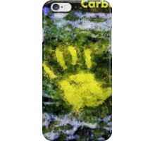 Carbon handprint iPhone Case/Skin