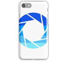 70s Modern Portal Aperture Logo (Cold) iPhone Case/Skin