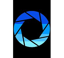 70s Modern Portal Aperture Logo (Cold) Photographic Print
