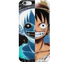 "Luffy Smile ""Two Face"" iPhone Case/Skin"