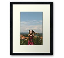 Vintage love Framed Print