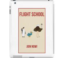 Flight School Illustration iPad Case/Skin