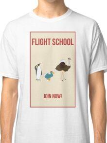 Flight School Illustration Classic T-Shirt