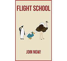 Flight School Illustration Photographic Print