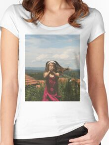 Vintage love Women's Fitted Scoop T-Shirt