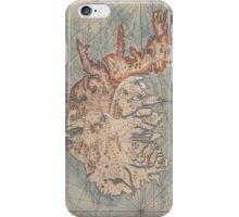 Vintage Map of Iceland (1767) iPhone Case/Skin