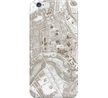 Vintage Map of Luxembourg Belgium (1907) iPhone Case/Skin