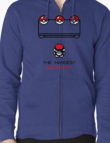 The Hardest Decision  Zipped Hoodie