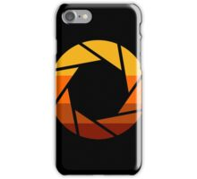 70s Modern Portal Aperture Logo (Hot) iPhone Case/Skin