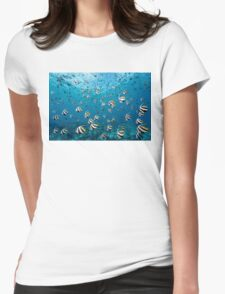 Flying High Womens Fitted T-Shirt