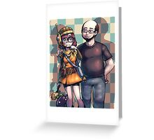 Lucca & Friend Greeting Card