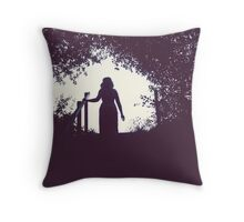Green Goddess Throw Pillow