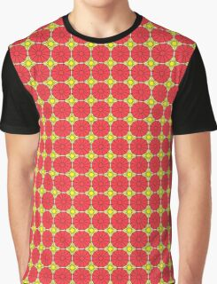 Yellow Suns and Pink Shells Graphic T-Shirt