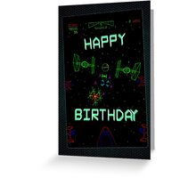 Player One (Birthday card) Greeting Card