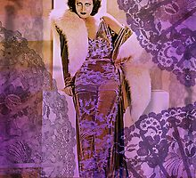 Joan Crawford in Furs by PrivateVices