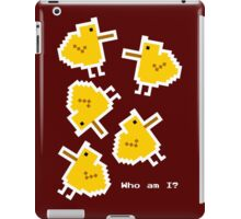 Existential chicks iPad Case/Skin