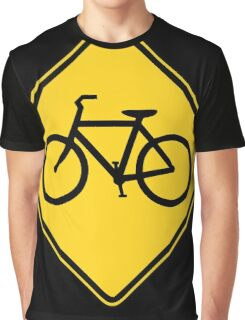 Bicycle Crossing Graphic T-Shirt