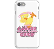 Breast Cancer Messed With The Wrong Chick iPhone Case/Skin